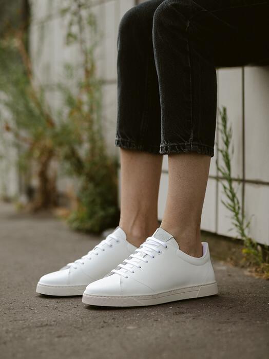 O.T.A Schuhe Gravière Recycled Leather [white] jetzt im Onlineshop von zündstoff bestellen