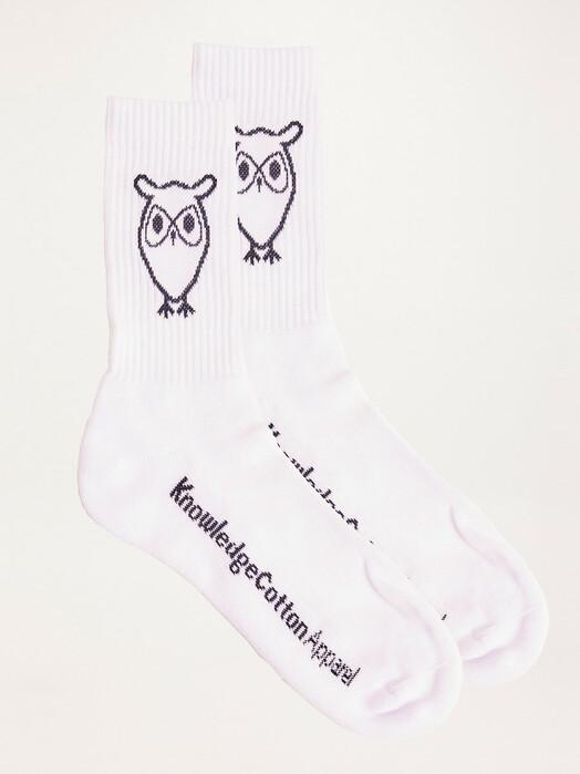 Knowledge Cotton Apparel  Socken  Linden 2-Pack Tennis Socks [bright white] jetzt im Onlineshop von zündstoff bestellen