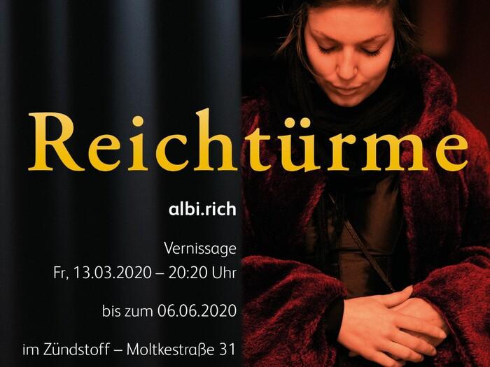 Vernissage von Albi.Rich im Freiburger zündstoff-Store