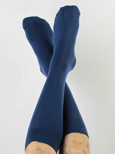 Albero Socken Unisex [dunkelblau]