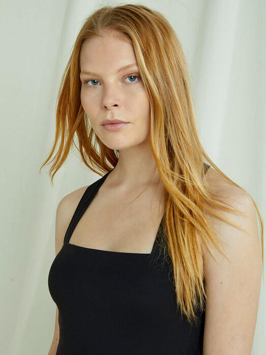 People Tree  Kleider Priti Cross Back Dress [black] M jetzt im Onlineshop von zündstoff bestellen