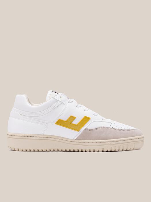 Flamingo's Life Schuhe Retro 90's Sneaker [white/yellow] 41 jetzt im Onlineshop von zündstoff bestellen