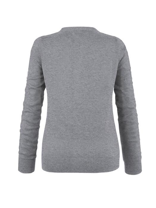 melawear Strickpullover & Cardigans Cardigan [grey blend] jetzt im Onlineshop von zündstoff bestellen