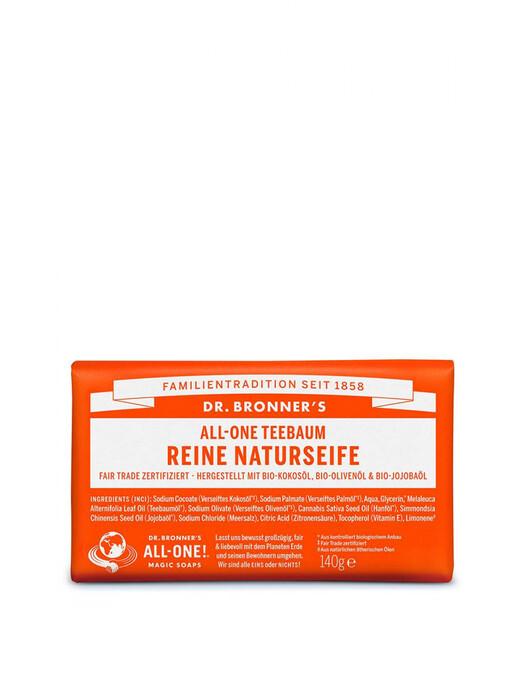Dr. Bronner's Kosmetik Barsoap Teebaum jetzt im Onlineshop von zündstoff bestellen