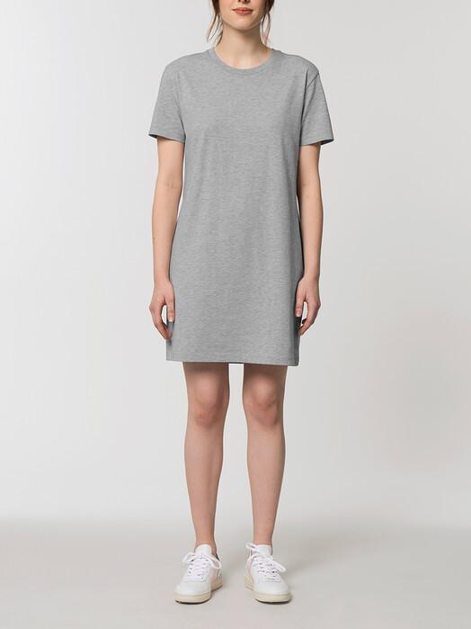 zündstoff.basics Kleider Sofia [diverse Farben] M, heather grey jetzt im Onlineshop von zündstoff bestellen