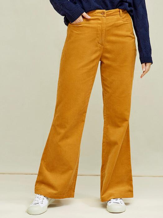 People Tree  Hosen Luna Corduroy Trousers [mustard] jetzt im Onlineshop von zündstoff bestellen
