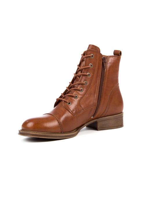Ten Points Schuhe  Pandora Laced [cognac] jetzt im Onlineshop von zündstoff bestellen