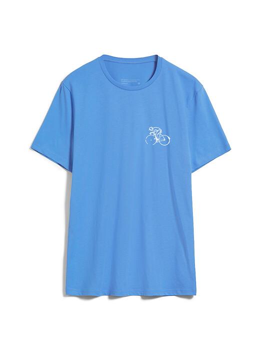 ARMEDANGELS T-Shirts Jaames Bike Season [dark cornflower] L jetzt im Onlineshop von zündstoff bestellen