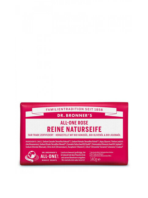 Dr. Bronner's Barsoap Rose