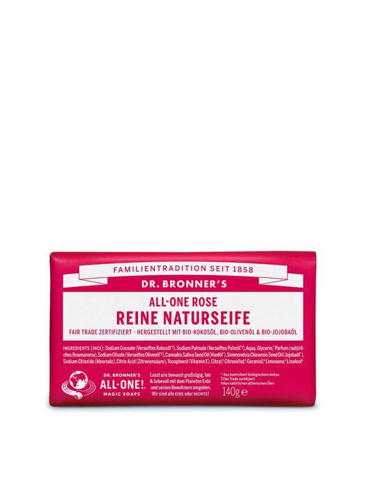 Dr. Bronner's Kosmetik Barsoap Rose jetzt im Onlineshop von zündstoff bestellen