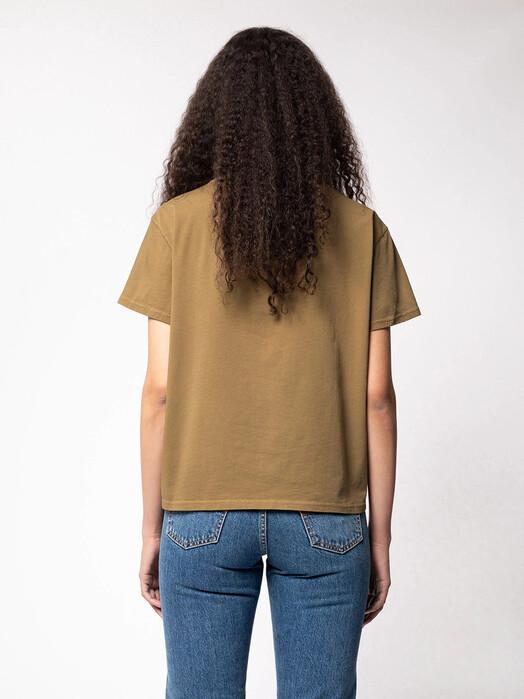 nudie Jeans T-Shirts Lisa Tee [hazel] jetzt im Onlineshop von zündstoff bestellen