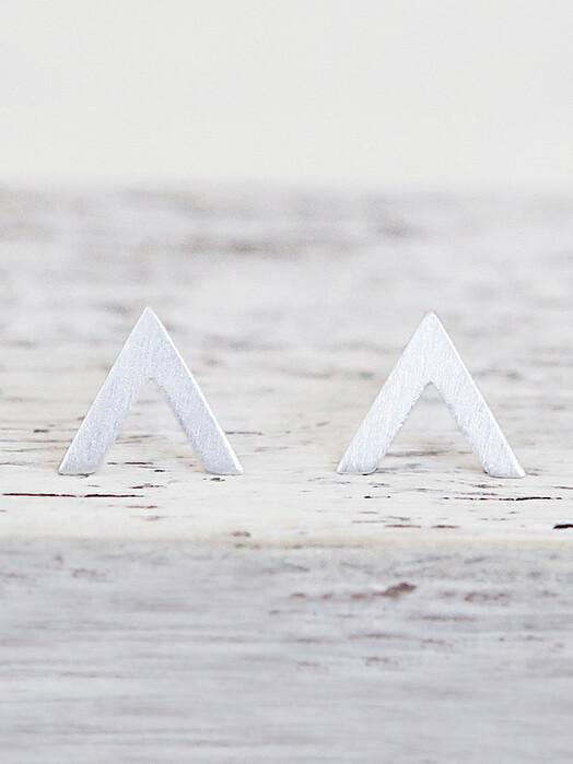 pikfine Schmuck 925er Silber Ohrstecker Arrow One Size jetzt im Onlineshop von zündstoff bestellen