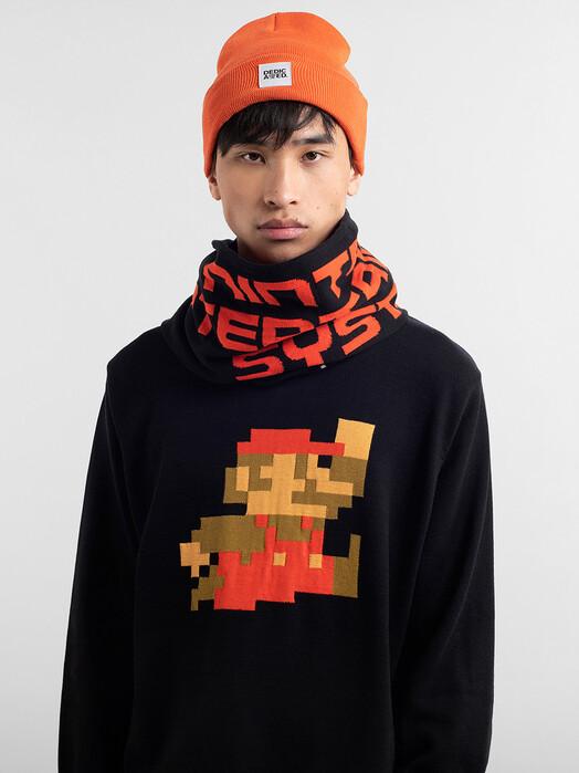 Dedicated Schals & Tücher Rosse NES Logo [black] One Size jetzt im Onlineshop von zündstoff bestellen