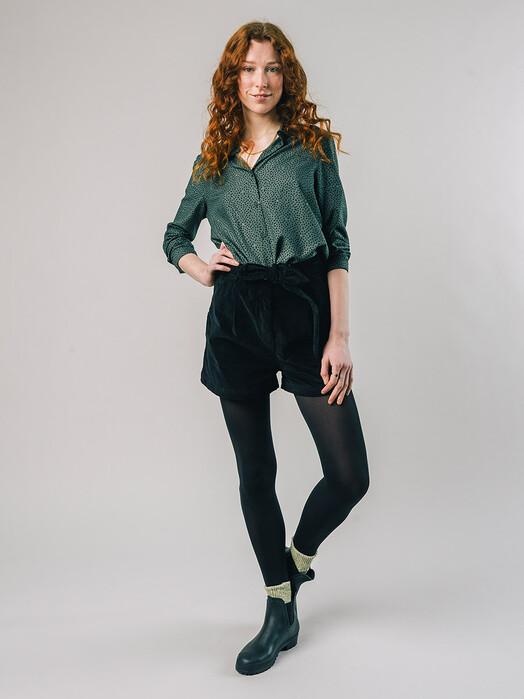 Brava Fabrics Blusen Polka Dot Blouse [green] jetzt im Onlineshop von zündstoff bestellen