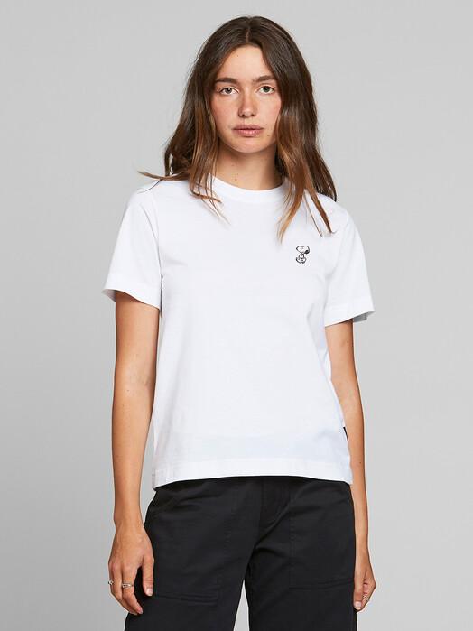 Dedicated T-Shirts Mysen Snoopy [white]  jetzt im Onlineshop von zündstoff bestellen