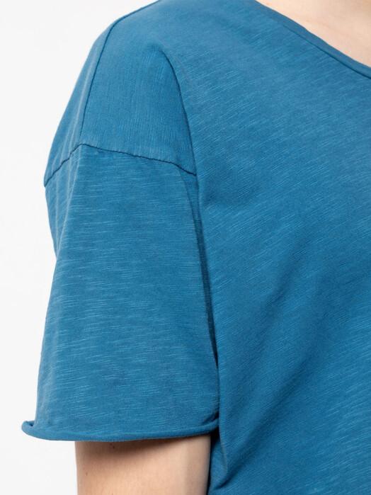 nudie Jeans T-Shirts Roger Slub [sky blue] jetzt im Onlineshop von zündstoff bestellen
