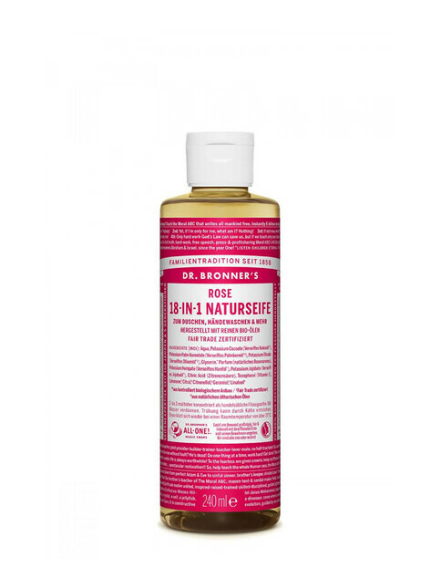 Dr. Bronner's Liquid Soap Rose 240ml