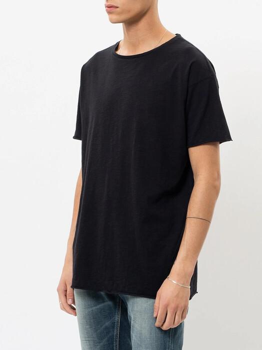 nudie Jeans T-Shirts Roger Slub [black] jetzt im Onlineshop von zündstoff bestellen