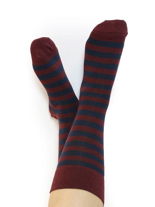 Albero Socken  Socken Unisex [bordeaux/dunkelblau] jetzt im Onlineshop von zündstoff bestellen