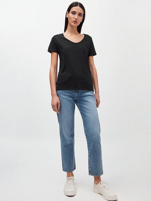 ARMEDANGELS T-Shirts Haadia [black] L jetzt im Onlineshop von zündstoff bestellen