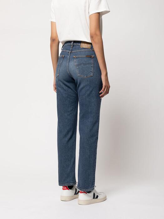 nudie Jeans Jeans Straight Sally [dark stone] jetzt im Onlineshop von zündstoff bestellen