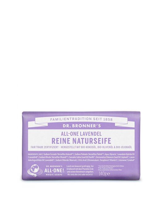 Dr. Bronner's Kosmetik Barsoap Lavendel jetzt im Onlineshop von zündstoff bestellen