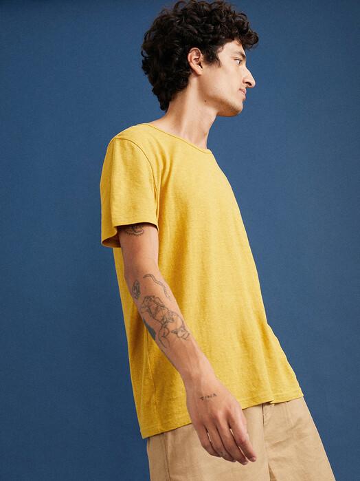 Thinking MU T-Shirts Hemp T-Shirt [mustard] XXL jetzt im Onlineshop von zündstoff bestellen