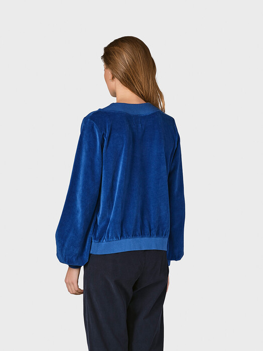 Klitmøller Collective Sweatshirts Laila [ocean] jetzt im Onlineshop von zündstoff bestellen
