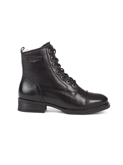 Ten Points Schuhe  Pandora Laced Gefüttert [black] jetzt im Onlineshop von zündstoff bestellen
