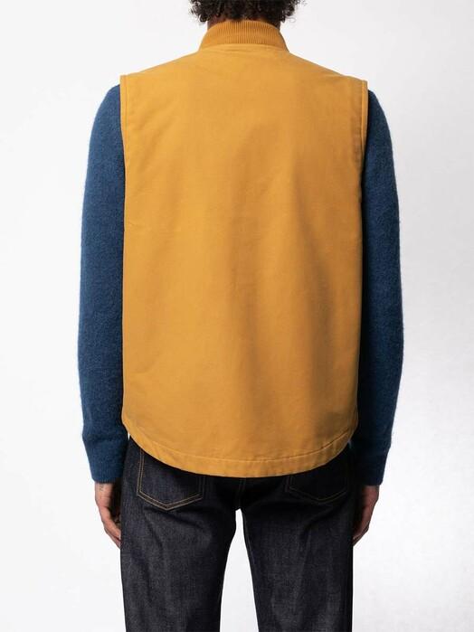 nudie Jeans Jacken & Mäntel Douglas Duck Vest [ochre] jetzt im Onlineshop von zündstoff bestellen