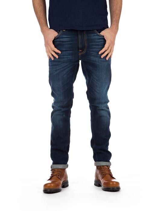 nudie Jeans Jeans Lean Dean [dark deep worn] jetzt im Onlineshop von zündstoff bestellen
