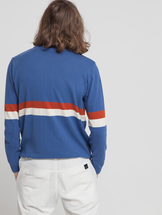 Strickpullover - Blue Knitted RCPB Sweater [blue marino] 3