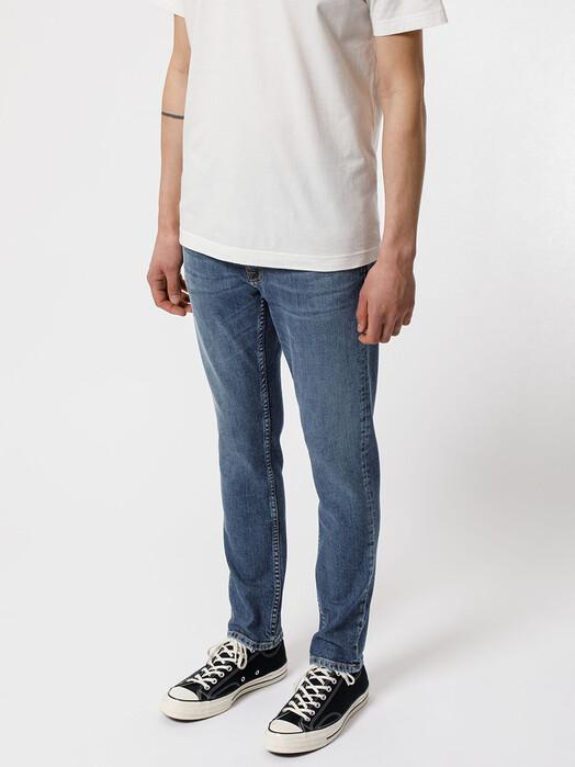 nudie Jeans Jeans Lean Dean [blue vibes] jetzt im Onlineshop von zündstoff bestellen