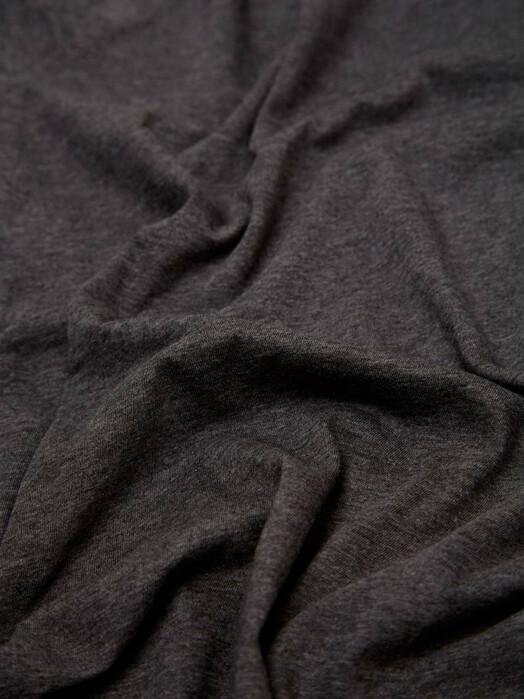 Knowledge Cotton Apparel  T-Shirts Alder Basic Tee [dark grey melange] jetzt im Onlineshop von zündstoff bestellen