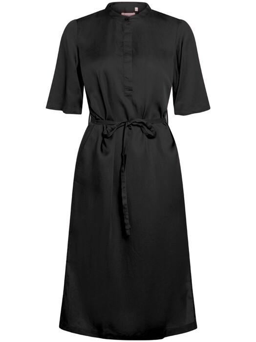 Knowledge Cotton Apparel  Kleider Orchid Tencel Dress [black jet] jetzt im Onlineshop von zündstoff bestellen