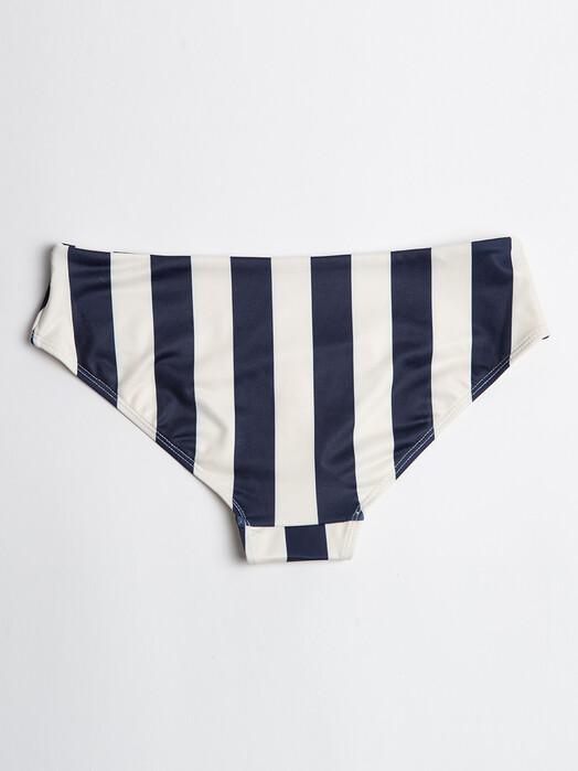 Dedicated Bikinis & Badeanzüge Lau Big Stripes [navy] jetzt im Onlineshop von zündstoff bestellen