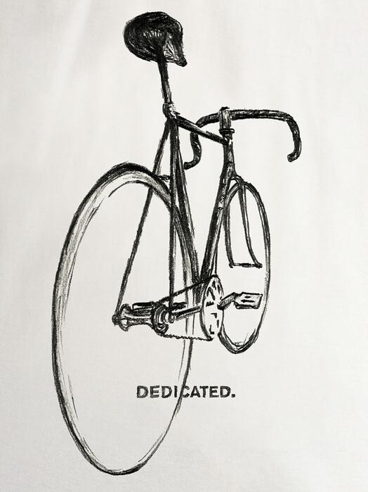 Dedicated T-Shirts Stockholm Pencil Bike [off-white] jetzt im Onlineshop von zündstoff bestellen