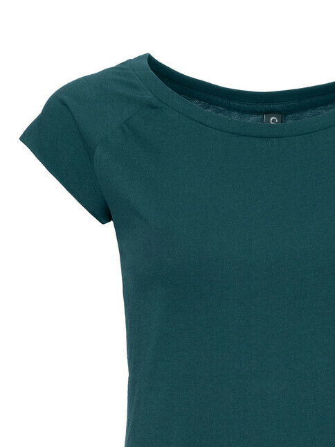 ThokkThokk  Women's Cap Sleeve T-Shirt [deep teal]