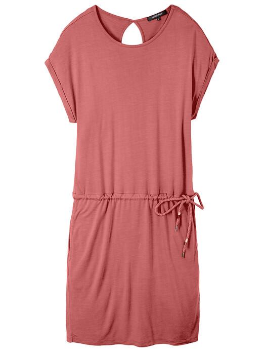recolution  Kleider Ecovero Shirtdress [dark rose] jetzt im Onlineshop von zündstoff bestellen