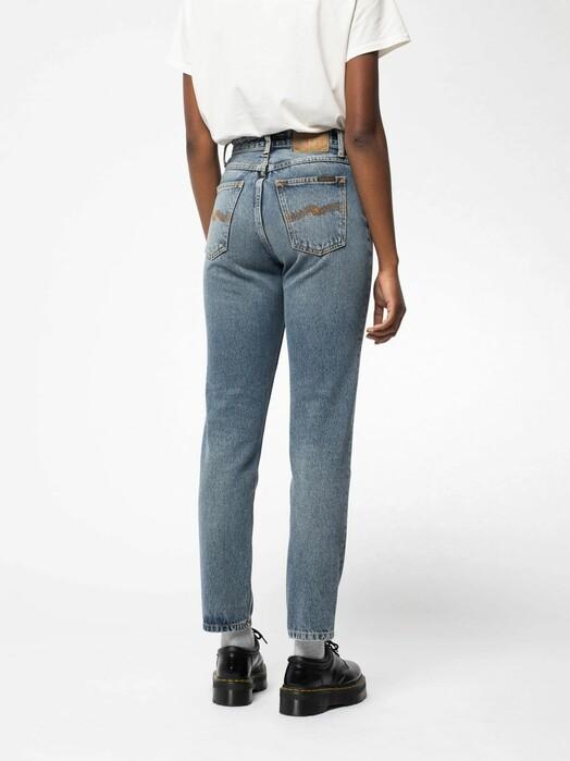 nudie Jeans Jeans Breezy Britt [blue bird] jetzt im Onlineshop von zündstoff bestellen