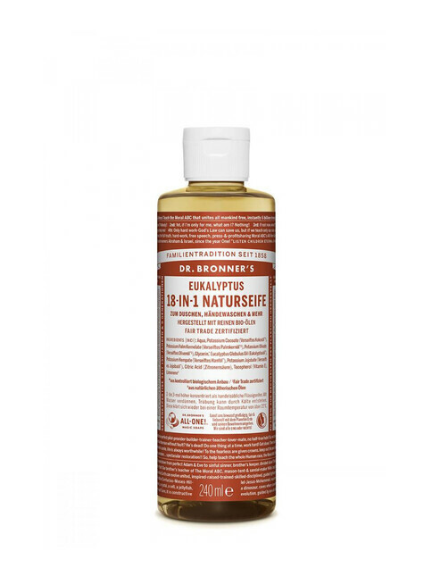 Dr. Bronner's Liquid Soap Eukalyptus 240ml