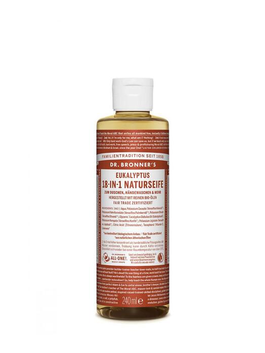 Dr. Bronner's Kosmetik Liquid Soap Eukalyptus 240ml jetzt im Onlineshop von zündstoff bestellen