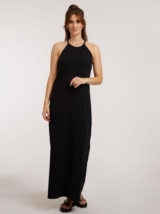 ThokkThokk  Kleider High Neck Dress [black] jetzt im Onlineshop von zündstoff bestellen