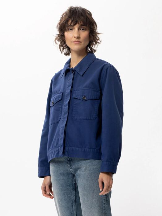 nudie Jeans Jacken & Mäntel  Wilma [blue touch] M jetzt im Onlineshop von zündstoff bestellen