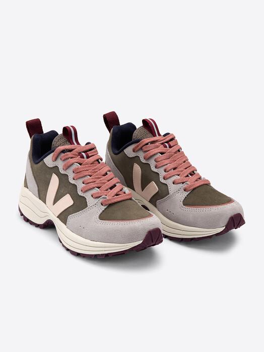 Veja Schuhe  Venturi Suede [khaki sable oxford-grey] jetzt im Onlineshop von zündstoff bestellen