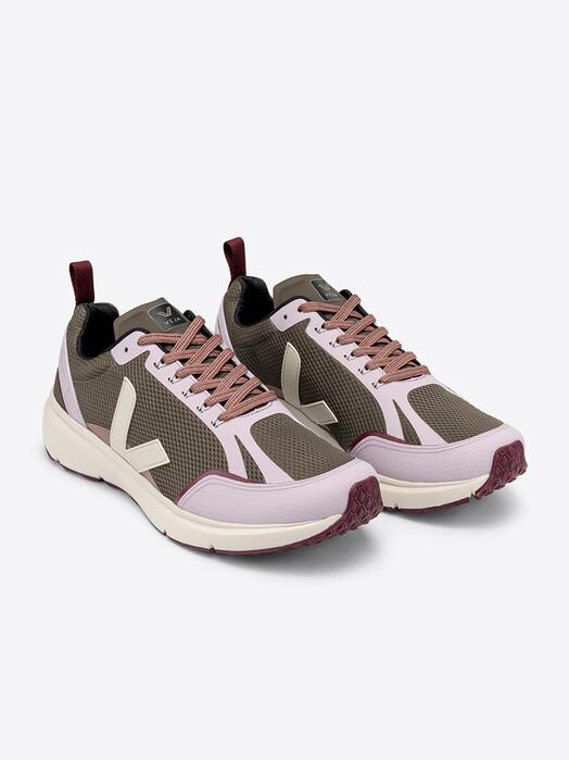 Veja Schuhe  Condor 2 Alveomesh [kaki pierre parme] jetzt im Onlineshop von zündstoff bestellen