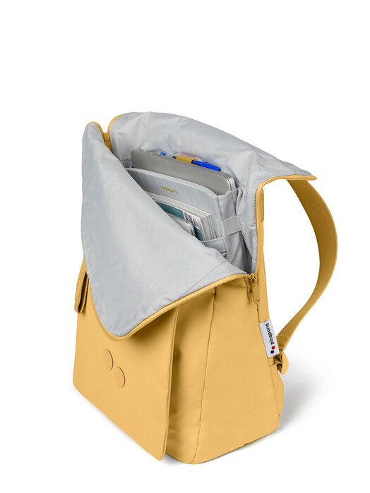 pinqponq Rucksäcke & Taschen Klak [straw yellow] One Size jetzt im Onlineshop von zündstoff bestellen