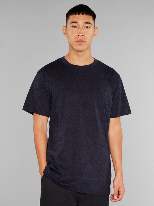 Dedicated T-Shirts Stockholm Trees [navy] jetzt im Onlineshop von zündstoff bestellen