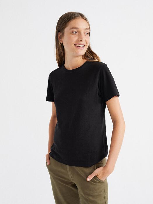 Thinking MU T-Shirts Hemp Juno T-Shirt [black] jetzt im Onlineshop von zündstoff bestellen