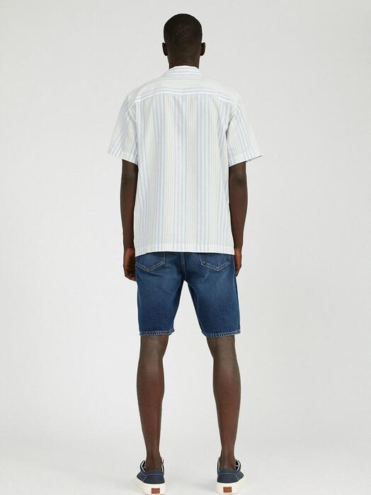 ARMEDANGELS Hemden & Polos Flaavio [off white/blue violet/sunlight] jetzt im Onlineshop von zündstoff bestellen